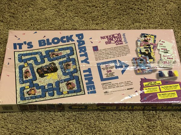 RARE New Kids on the Block board game, factory sealed