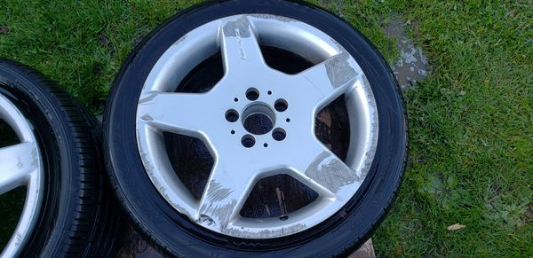 """18"""" AMG wheels off a 04 S500"""
