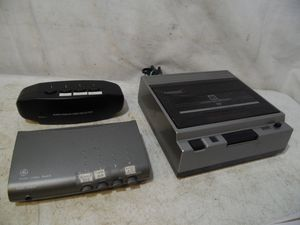 VTG Gemini Auto 2 Way VHS Tape Rewinder & 2 Audio Video A/B Switch Box Selector for Sale in Clifton Heights, PA