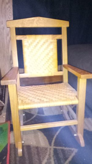 Handmade Kids/Baby Rocking Chair for Sale in Tennerton, WV