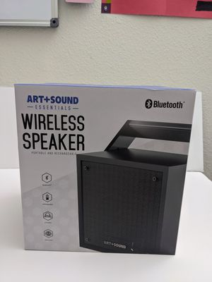 Wireless Bluetooth speaker boombox portable and rechargeable for Sale in Las Vegas, NV