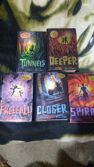 Tunnels series books 1-5 for Sale in Vancouver, WA