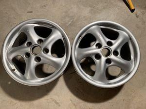 "Porsche 17"" Boxster/Carrera Wheels for Sale in Haymarket, VA"