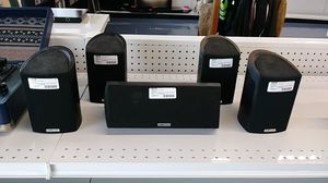 Polk audio surround speakers qty 5 for Sale in Port Richey, FL