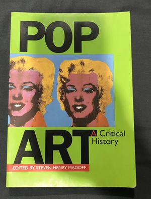 Pop Art A Critical History for Sale in Queens, NY