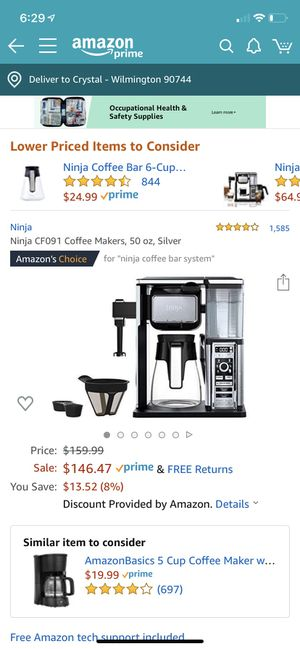 Coffee machine for Sale in Los Angeles, CA