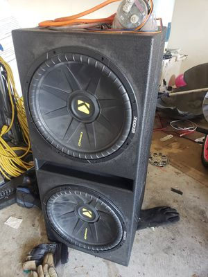 Amp,capacitor, and speakers for Sale in Dallas, TX