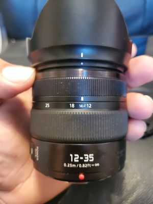 Panasonic 12-35mm f2.8 II lens for Sale in Nashville, TN