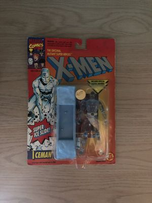 X-Men Ice Man Super Ice Slide Action Figure for Sale in Modesto, CA