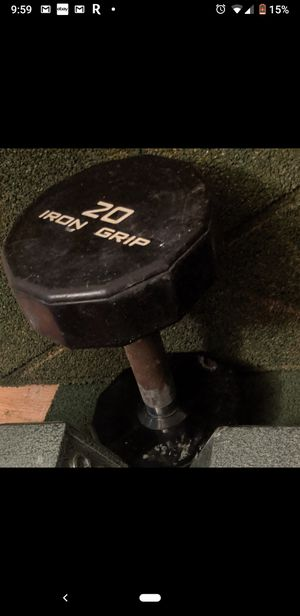 Single 20lbs dumbbell for Sale in Springfield, VA