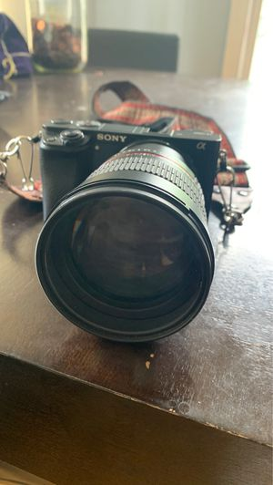 Sony Mirrorless camera with lens for Sale in New Haven, CT