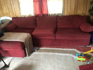 Ruby Sectional for sale $100 obo for Sale in New Canton, VA