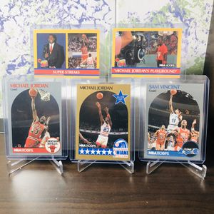 5 Card Michael Jordan Package (Wearing #12 on one card) for Sale in Waterford, CT