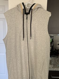Black Scale Hooded Cotton Vest for Sale in Gilbert,  AZ