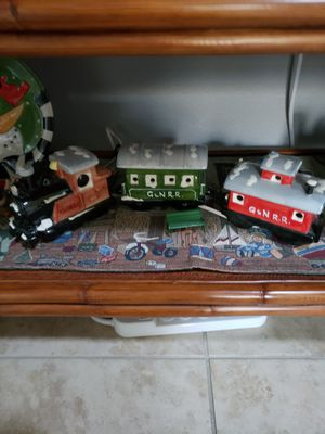 A 3 piece train that lights for Sale in Palm Shores, FL