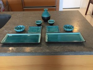 SUSHI AND SAKE SET FOR TWO for Sale in Miami, FL