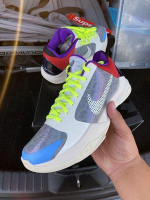 Nike Kobe 5 PJ Tucker PE Size 7M / 8.5 W DS for Sale in Rolling Hills Estates, CA