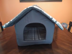 Hollypet Cozy Pet Bed House for Cats and Small Dogs, Gray for Sale in Fort Worth, TX