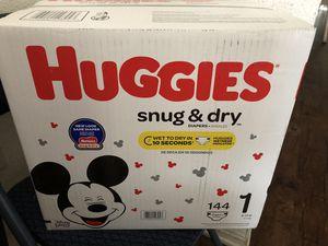 Huggies diaper1 for Sale in Bloomington, CA