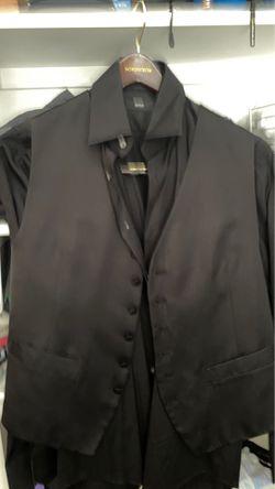 Black shirt, black vest. Medium size. From Nordstrom for Sale in Alexandria,  VA
