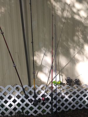 Assorted Fishing Rods and Reels for Sale in Tampa, FL