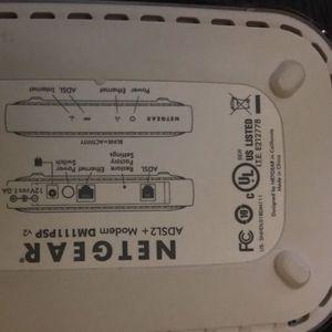 Netgear Modem DM111psp for Sale in Fort Lauderdale, FL