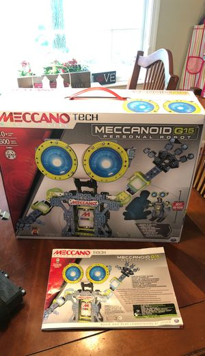 Meccanoid Robot G15 for Sale in Middletown, MD