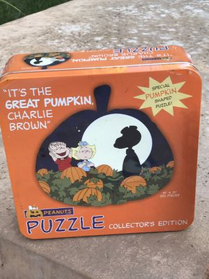 Charlie brown collectible puzzles and game...Never used\never opened for Sale in Huntington Beach, CA