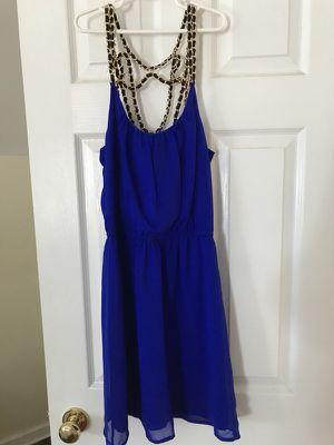 Royal blue dress for Sale in Interlochen, MI