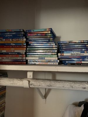 5 dollar DVD and Blu-ray's for Sale in Monterey Park, CA