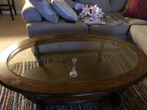 Coffee table 3 months old $65 for Sale in Raleigh, NC