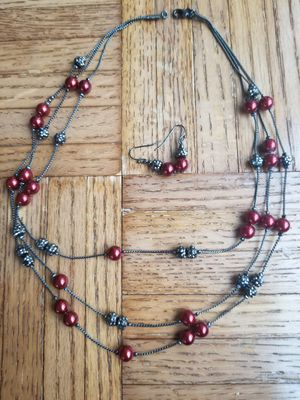 Neckalce with earing set for Sale in Reston, VA
