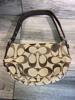 COACH KHAKI HOBO BAG for Sale in Hillsboro, OR