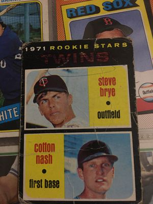 Baseball card 1971 rookies for Sale in Norwalk, CA