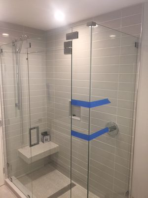 Glass shower doors $25 per sq ft for Sale in West Park, FL