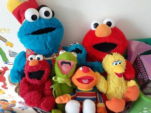 Sesame street plushies for Sale in Avon, OH
