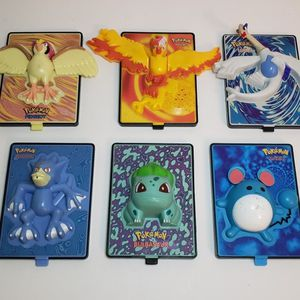Lot Of 6 Pokemon Movie 2000 Nintendo Power 3D Cards Toys by Burger King for Sale in St. Petersburg, FL