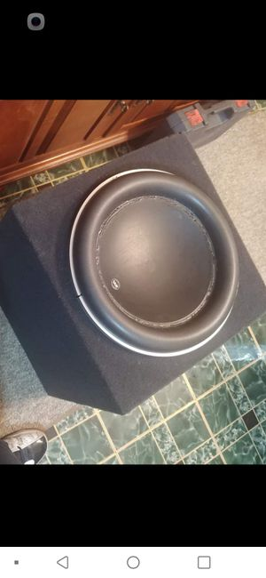 "13"" JL W7 needs to be rebuilt. Subwoofer and box for Sale in Columbus, OH"