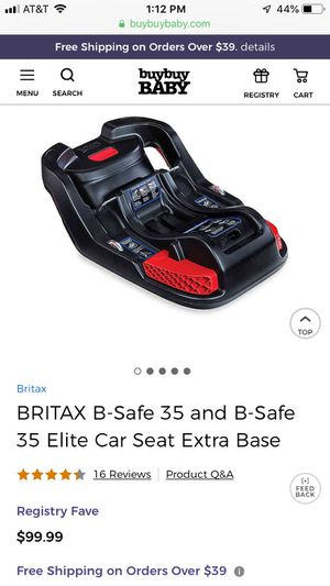Britax B Safe 35- Car Sear Base for Sale in Hialeah, FL