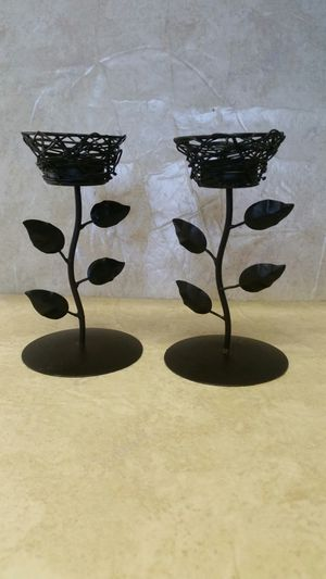 Bird nest metal tealight candle holders for Sale in Lake Wales, FL