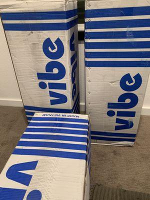 (3 of this item) Vibe 12-Inch Twin XL Gel Memory Foam Mattress for Sale in Big Bear Lake, CA