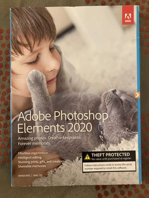 Adobe photoshop elements2020 for Sale in Guadalupe, AZ