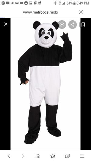 Panda costume great for Halloween for Sale in Ontario, CA