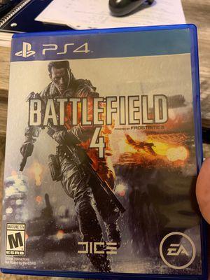 Battlefield 4 PS4 for Sale in Phoenix, AZ