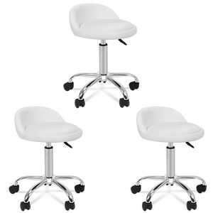 3X Adjustable Height Hydraulic Rolling Swivel Salon Stool Spa Rolling Chair for Sale in Wildomar, CA