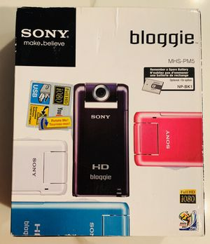 SONY Bloggie Mobile Full HD 1080 Snap Camera w/ USB for Sale in Brooklyn, NY