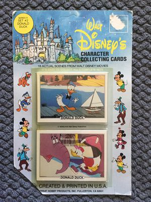 Vintage 1982 Unopened Walt Disney's Donald Duck Collecting Cards for Sale in Fresno, CA