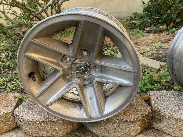 1990 stock Camaro wheels