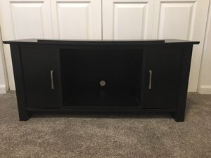 TV Table Entertainment Console IKEA- Black Wood for Sale in Boulder, CO