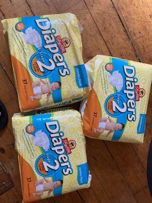 Diaper size 2 for Sale in Pawtucket, RI